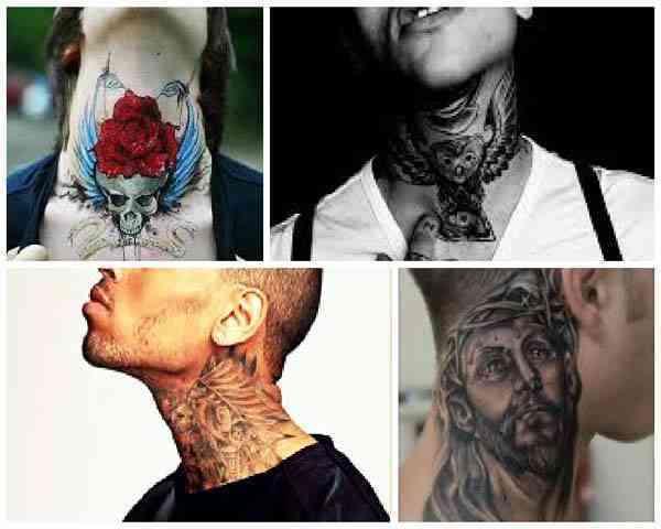 Tatuajes de hombre para el cuello