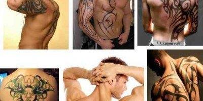 Tatuajes espalda tribales Los mejores tatuajes de hombre