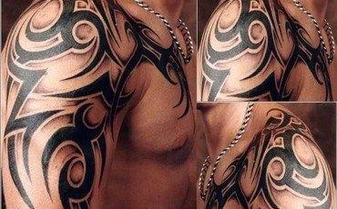 Tatuajes para hombres brazo tribales