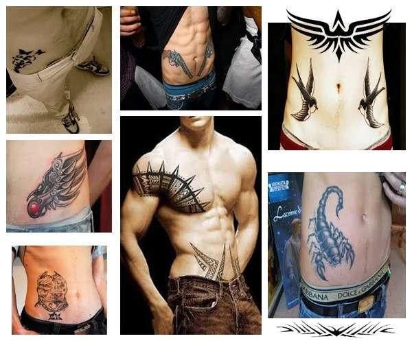 Tatuajes para hombres en la cadera