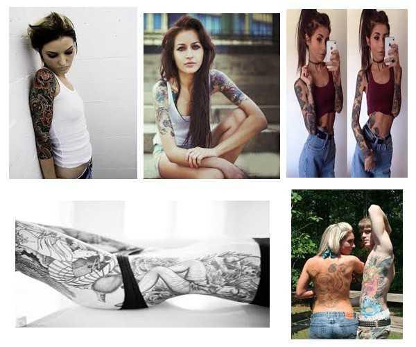Tatuajes para mujeres flacas