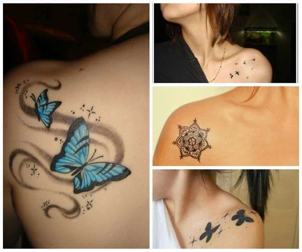 Tatuajes para mujeres hombro imagen