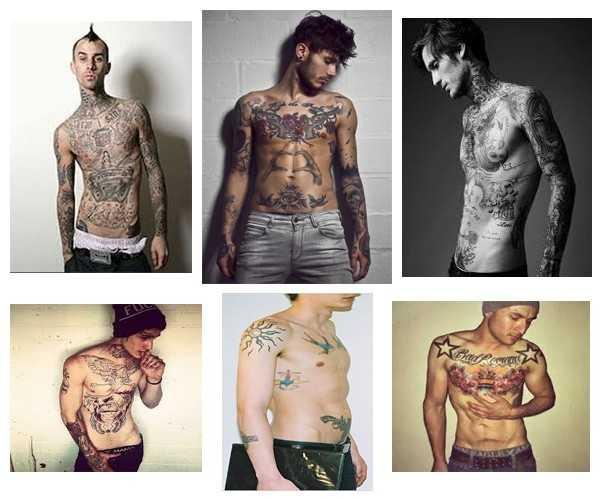 ideas de tatuajes para personas delgadas