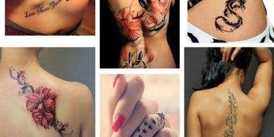 Ideas de tatuajes para una mujer
