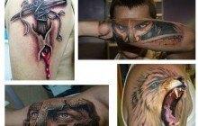 Tatuajes para hombres brazo 3D