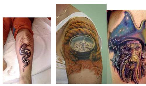 Tatuajes para hombres brazo 3D fotos