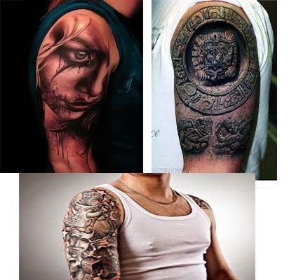 Tatuajes para hombres brazo 3D imagenes