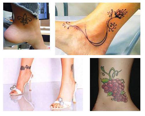 Tatuajes para mujeres en el tobillo pequeños