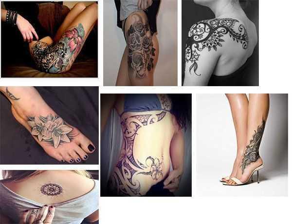 Tatuajes para una mujer Diseños y fotos