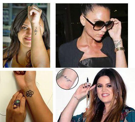 Tatuajes pequeños para mujeres muñeca diseños