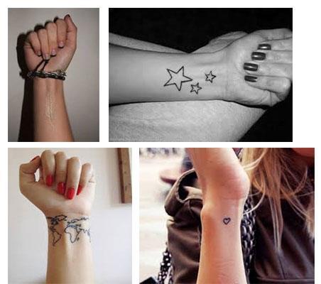 Tatuajes pequeños para mujeres muñeca fotos