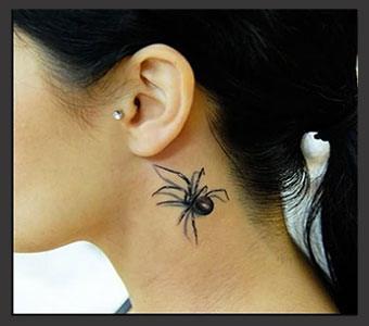 cuello tatuado tatuajes para mujeres