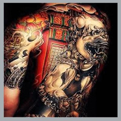 Tatuajes japoneses para hombres imagen