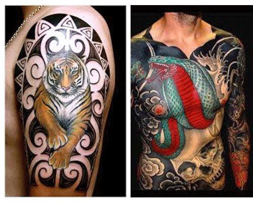 Tatuajes para hombres estilo japoneses foto