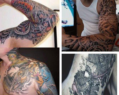 Tatuajes para hombres estilo japoneses imagenes