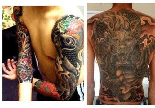Tatuajes para hombres estilo japoneses