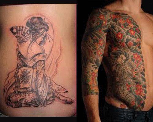 catalogo tatuajes japoneses fotos