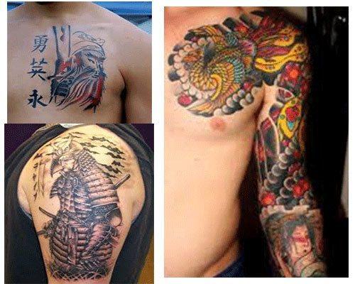 tatuajes japoneses diseños para hombres