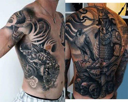 tatuajes japoneses para hombres Grandes