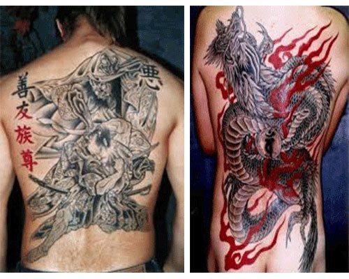 tatuajes japoneses para hombres diseños