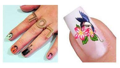 Tatuaje para uñas mujeres