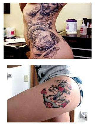Tatuajes para la cadera 5