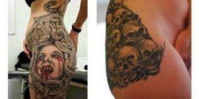 Tatuajes para la cadera 7