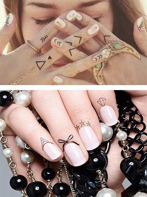 Tatuajes para uñas 1