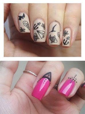 tatuajes en las uñas permanentes