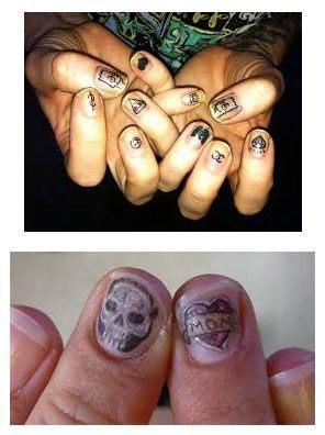 tatuajes para uñas 2