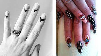 tatuajes para uñas permanentes