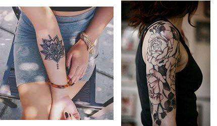 Tatuajes para mujer en el brazo diseño