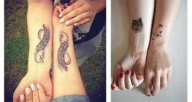 tatuajes para hermanas delicados
