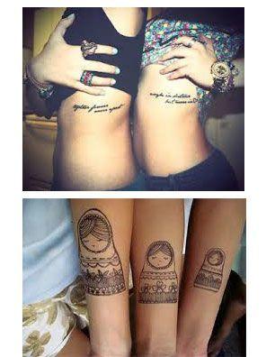 un Tatuaje para hermanas