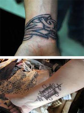 Los Tatuaje para mujeres en las muñecas