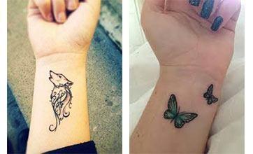 Tattoo para mujeres en las muñecas