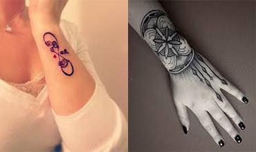 Tatuaje para mujeres en las muñecas bonitos
