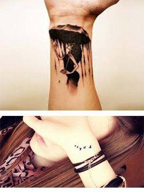 Tatuajes para mujeres en las muñecas bonitos