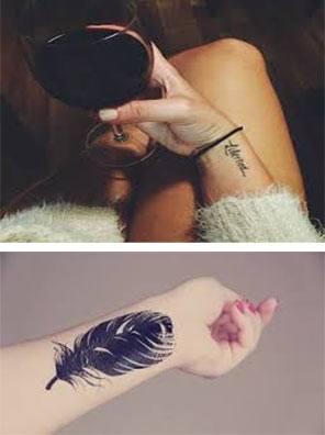Tatuajes para mujeres en las muñecas