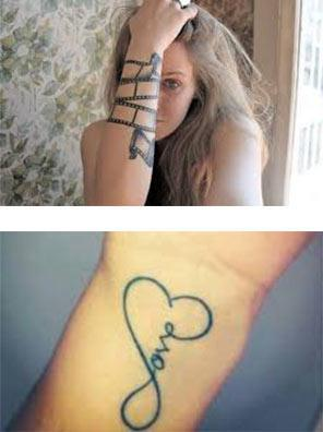 tatuajes para mujeres en las muñecas nombres
