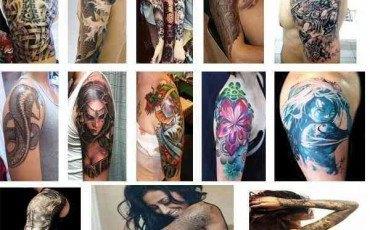 Los mejores Tatuajes para hombro y brazo