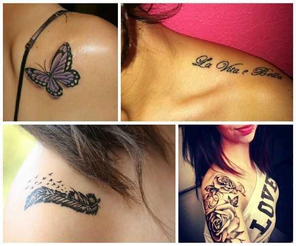 Tatuajes para mujeres hombro