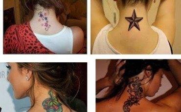 Cómo elegir tatuajes para mujeres en la nuca