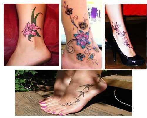 Tatuajes para mujeres en el tobillo fotos