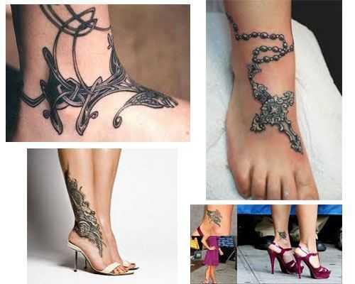 Tatuajes para mujeres en el tobillo imagenes foto 2