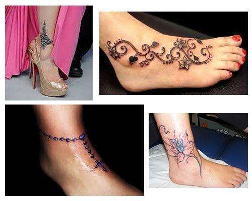 Tatuajes para mujeres en el tobillo